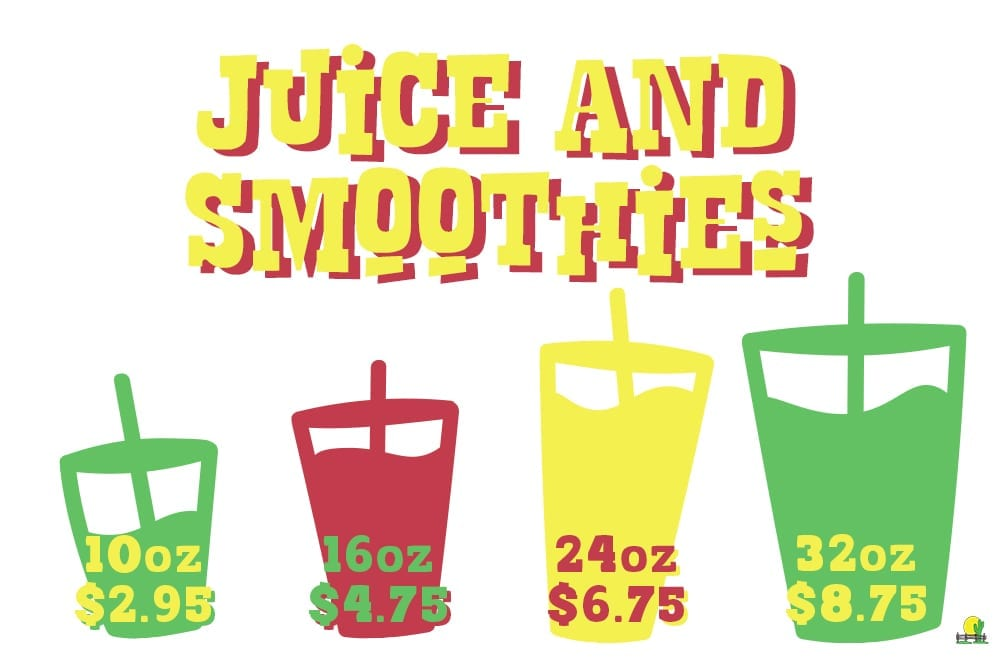 juice & smoothies