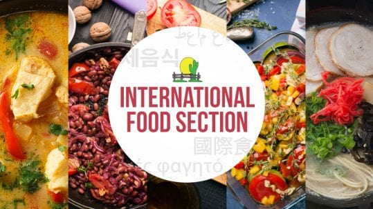 International Food Section