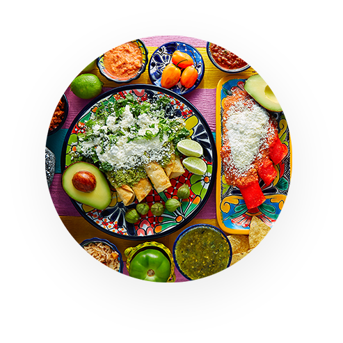 AUTHENTIC MEXICAN PARTY PLATTERS