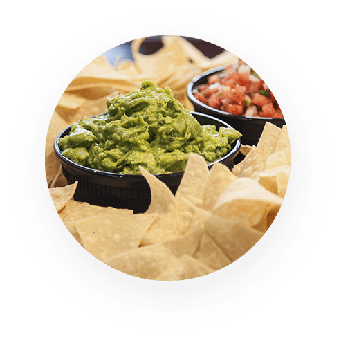 FRESH GUACAMOLE AND CHIP PLATTER