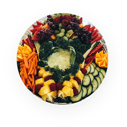 FRUIT & VEGGIE PLATTERS