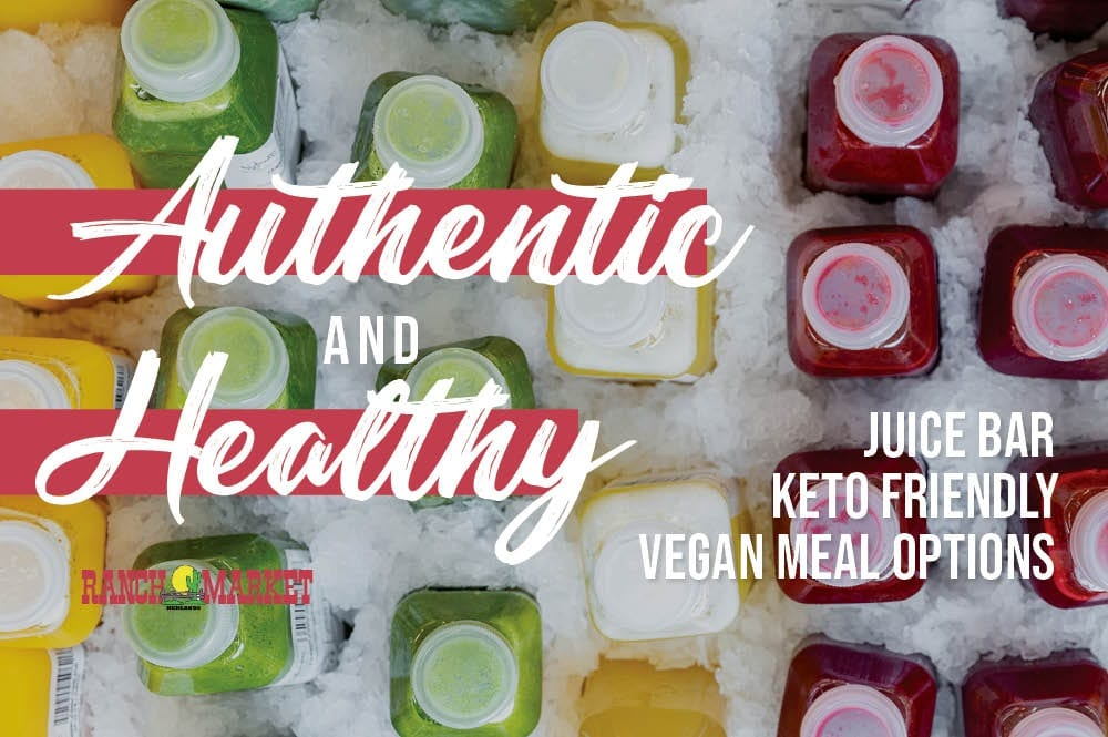 authentic and healthy options
