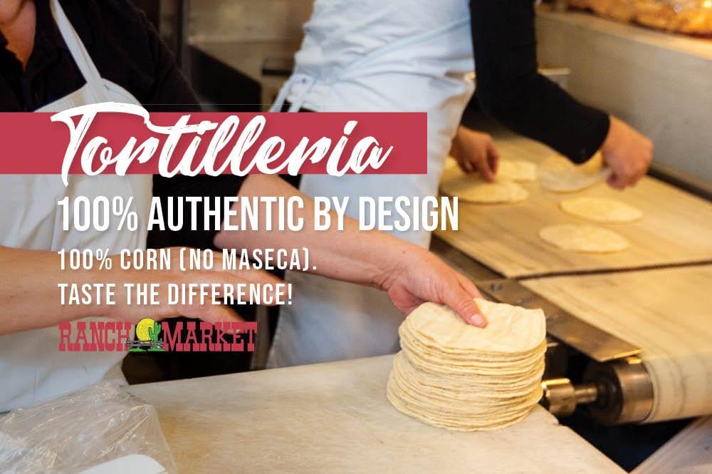 authentic tortillas
