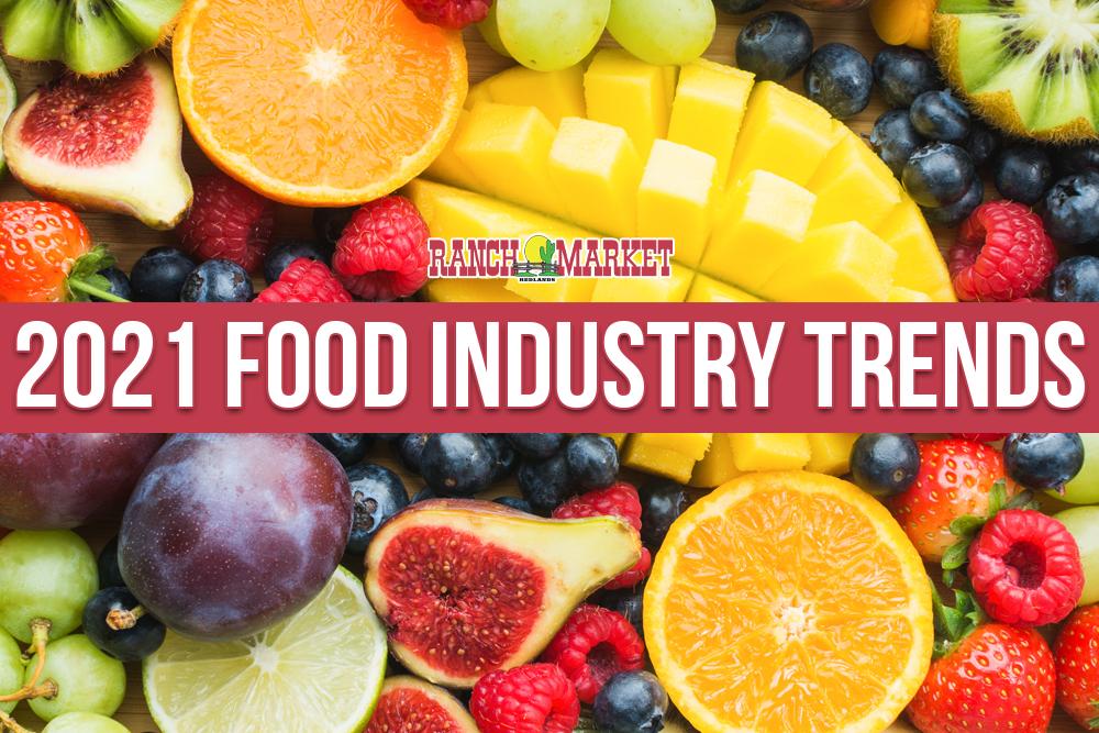 2021 food industry trends
